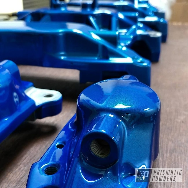 Powder Coating: Clear Vision PPS-2974,Brembo,Brake Calipers,Illusion Blueberry PMB-6908,Brembo Brake Calipers