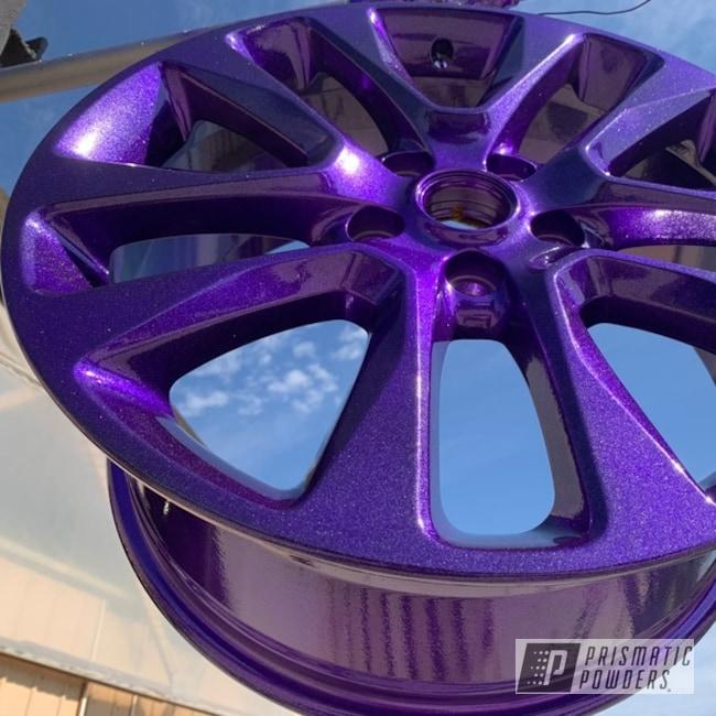 Powder Coated Wheels In Upb-5233