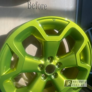 Powder Coated Wheels In Pps-2974 And Pmb-10050