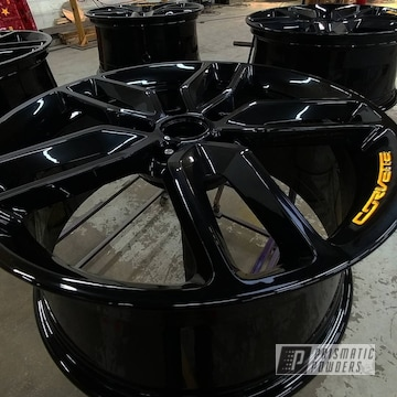 Powder Coated Two-tone Corvette Wheels