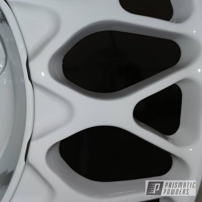 Powder Coating: Polar White PSS-5053,BBS Wheels,BBS,3 Piece Wheels