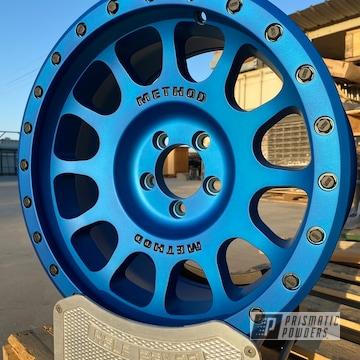Powder Coated Custom Method Wheels