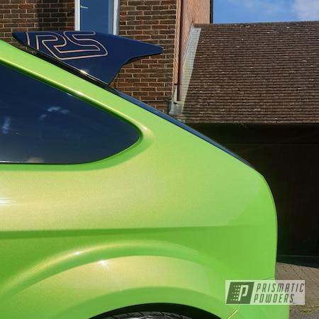 "Powder Coating: Wheels,19"" Wheels,Rims,MK2 Focus RS,19"" Aluminum Rims,Highland Bronze PMB-5860,Ford"