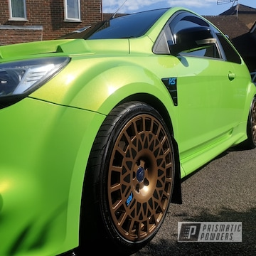 Powder Coated Ford Focus Rs Wheels In Pmb-5860