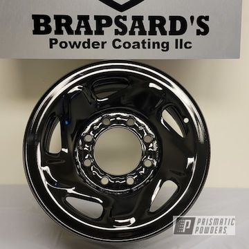 Powder Coated Wheels In Ess-10171 And Uss-2603