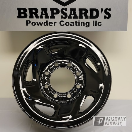 "Powder Coating: Wheels,Zinc Primer ESS-10171,Ford Wheels,2 Tone,Rims,GLOSS BLACK USS-2603,17"" Wheels,1500"