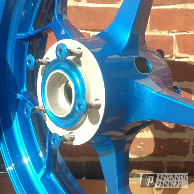Powder Coating: Heavy Silver PMS-0517,Peeka Blue PPS-4351