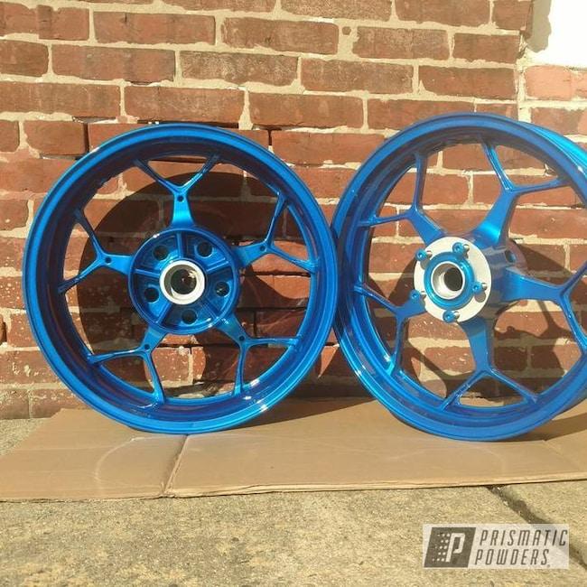 Powder Coating: Heavy Silver PMS-0517,Peeka Blue PPS-4351
