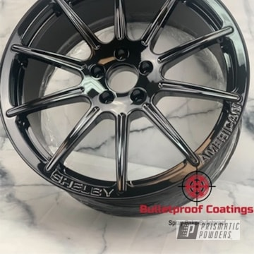 Powder Coated Shelby Wheels In Pss-0106