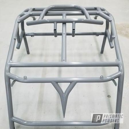 Powder Coating: Polaris RZR,CREST GREY PSS-4500,Roll Cage,Rollcage,Custom Made Roll Cage,Roll Cages