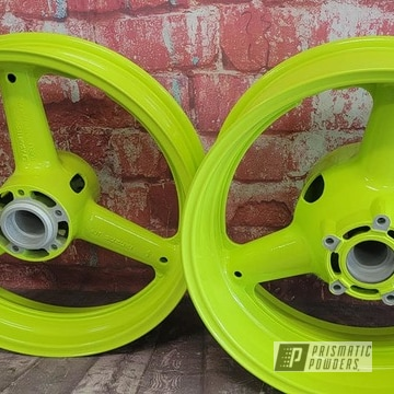 Powder Coated Motorcycle Rims In Pss-7068