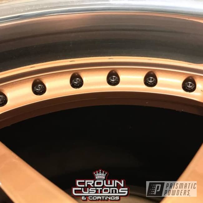 Powder Coating: Illusion True Copper PMB-10044,Wheels,Clear Vision PPS-2974,illusion true copper,3 Peice Wheels
