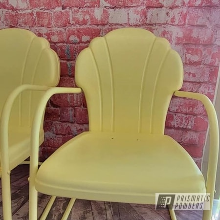 Powder Coating: Patio Chairs,Vintage Lawn Chairs,Outdoor Chairs,Custom Outdoor Furniture,BUTTERCUP PSB-2949,Outdoor Patio Furniture,vintage patio chair