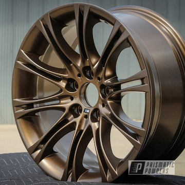 Bronze Chrome Coated Custom Wheel
