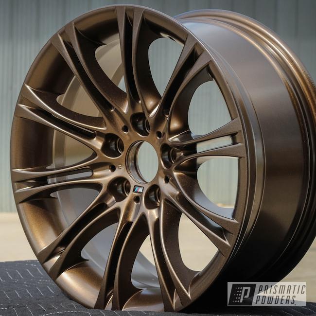 Powder Coating: Wheels,Custom Wheels,Bronze Chrome PMB-4124
