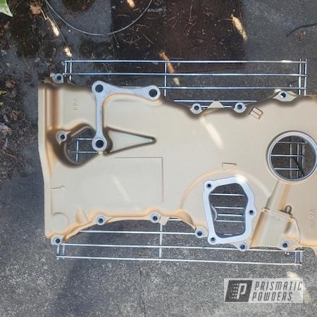 Powder Coating: Automotive,Bismark Gold PMB-2015,Casper Clear PPS-4005,Automotive Parts