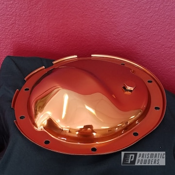 Auto Parts Coated In Trans Copper Ii