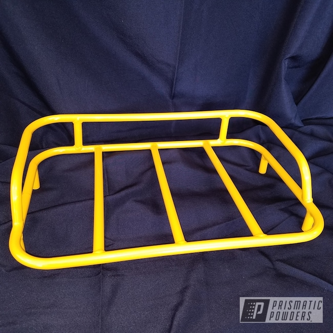 Powder Coating: Motorcycle Luggage Rack,RAL 1003 RAL-1003