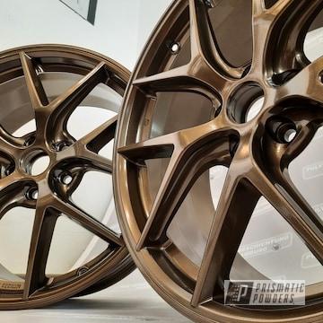 Powder Coated Wheels In Pmb-4124