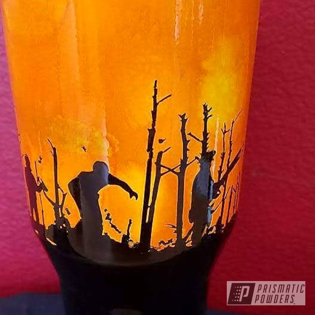 Powder Coating: Firefighter Theme,RAL 2009 Traffic Orange,Clear Vision PPS-2974,Ink Black PSS-0106,Personalized,RAL 1018 Zinc Yellow,Custom Cup