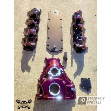 Powder Coated Engine Parts In Pmb-8056, Pmb-4124 And Ppb-8057