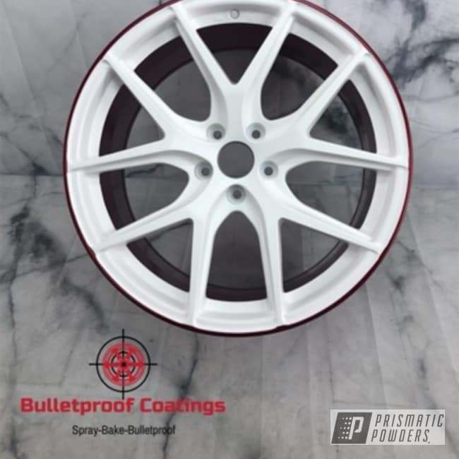 Powder Coated Custom Amg Wheels In Pss-1353, Hss-2345 And Pps-2888