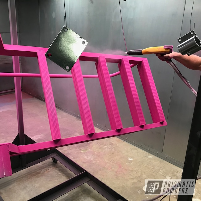 Powder Coating: Ladder,RACING RASPBERRY UPB-6610,Miscellaneous