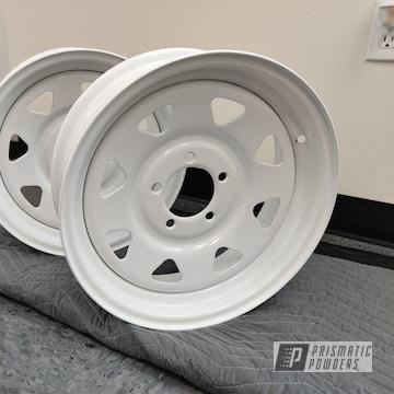 Powder Coated Wheels In Pss-5690
