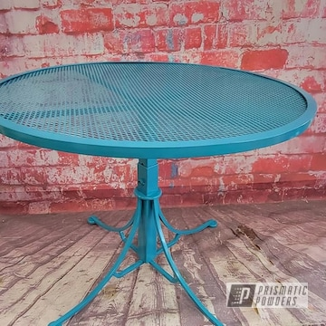 Powder Coated Patio Table In Pss-2791