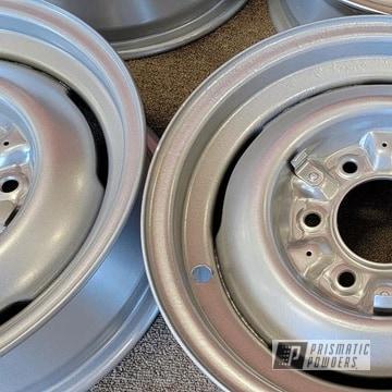 Powder Coated Wheels In Pms-0517