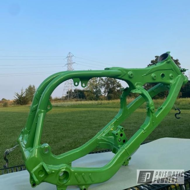 Powder Coated Dirt Bike Frame In Pps-2974 And Pss-10664