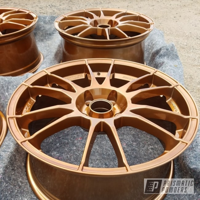 Powder Coating: Wheels,copper,Transparent Copper PPS-5162,Rims,Over Chrome