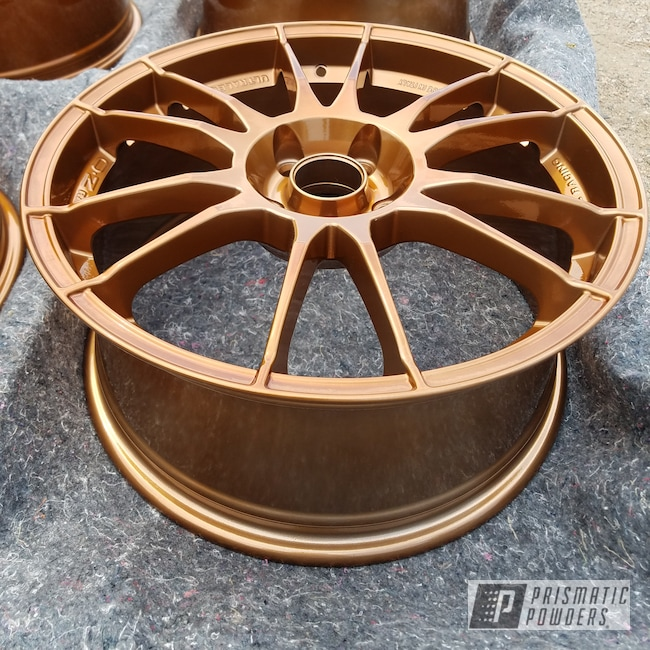 Powder Coating: Wheels,Transparent Copper PPS-5162,Rims,Copper,Over Chrome