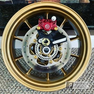 Powder Coated Motorcycle Wheels In Hmb-4137