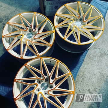 Powder Coated Two Tone Wheels In Pmb-6625, Ums-10671 And Pss-5690