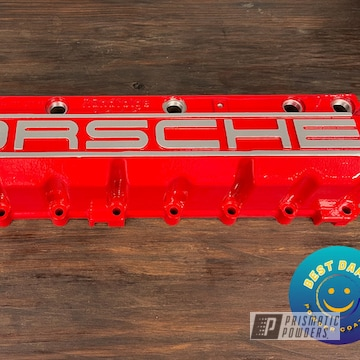 Powder Coated Valve Cover In Pss-1738