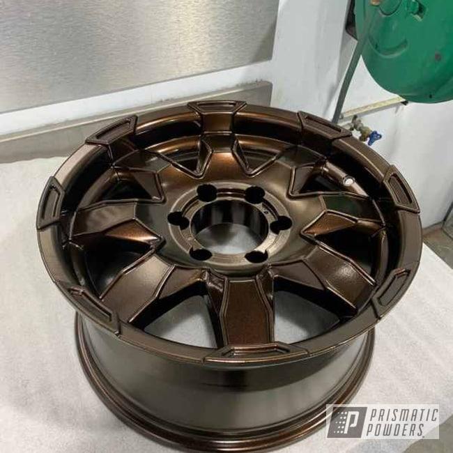 Powder Coated Truck Wheels In Pmb-1081