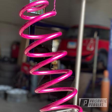 Powder Coating: Automotive,Coil Spring,Illusion Pink PMB-10046