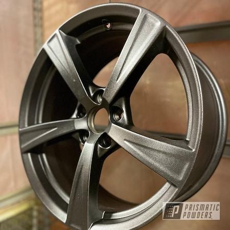 "Powder Coating: Wheels,Wizard Black PMB-4671,Volvo,Rims,16"" Aluminum Rims"