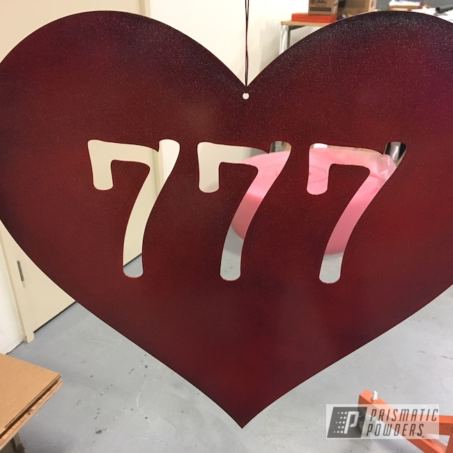 Powder Coating: Really Red PSS-4416,City Lights PMB-2689,Art,Heart