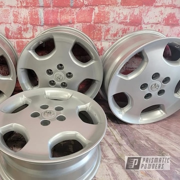 Powder Coated Toyota Rims In Pms-0517