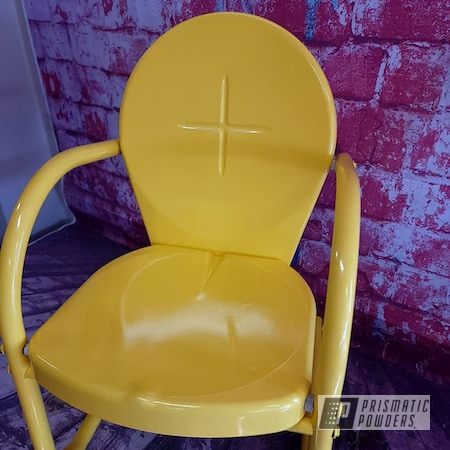 Powder Coating: Chairs,Outdoor Chairs,RAL 1018 ZincYellow,Patio Chair,Lawn Chairs,Kids Chair