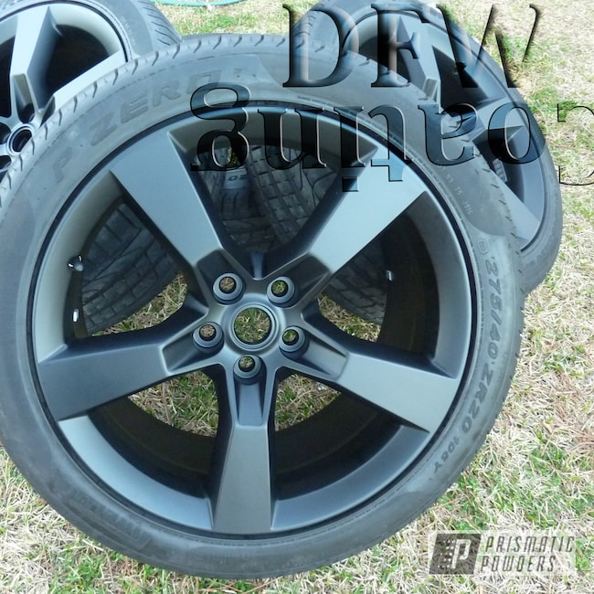 Powder Coating: Wheels,Automotive,Black Jack USS-1522,Chevy Camaro Wheels,Camaro Wheels