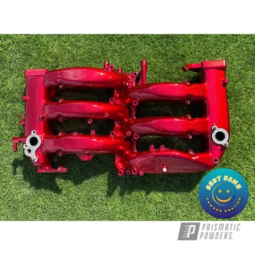 Powder Coated Manifold In Pps-2888