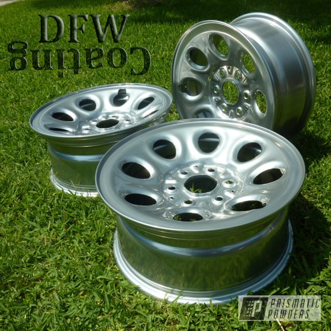Powder Coating: Wheels,Chevy Tahoe Wheels,Automotive,Clear Vision PPS-2974,SUPER CHROME USS-4482