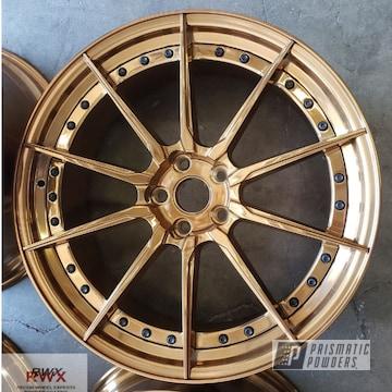 Powder Coated Wheels In Ppb-4520
