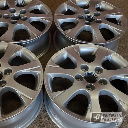 "Powder Coating: Wheels,Heavy Silver PMS-0517,Rims,16"" Aluminum Rims,Aluminum Rims,16"" Wheels,Car Wheels,Automotive Wheels,Aluminum Wheels"