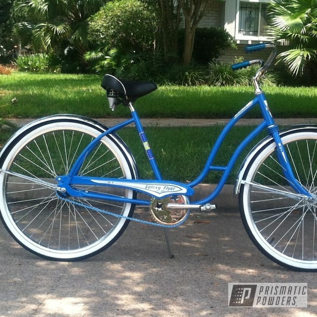 Powder Coating: Sparks Blue UMB-1809,Bicycle