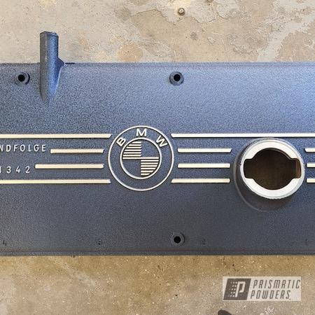 Powder Coating: Wetstone Midnight II PWB-2589,Automotive,BMW,2002,Valve Cover