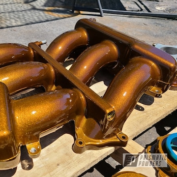 Powder Coated Intake Manifold In Pps-2974 And Pmb-6921